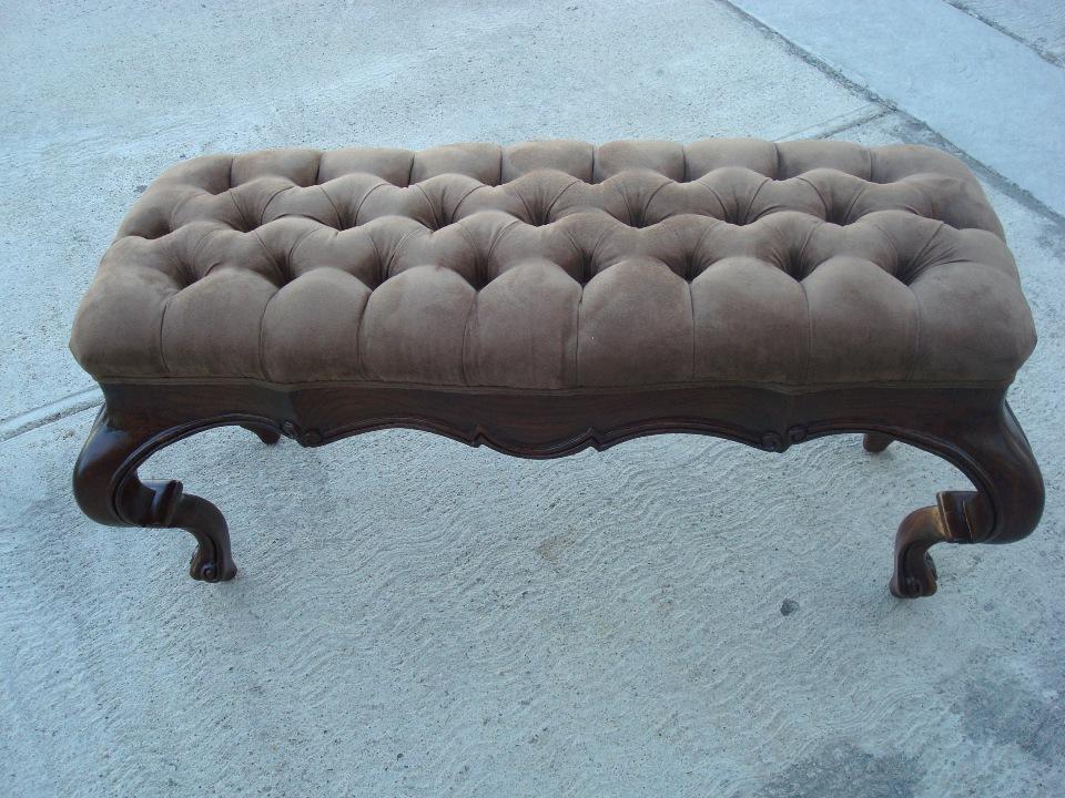 LA Diamond shape upholster after