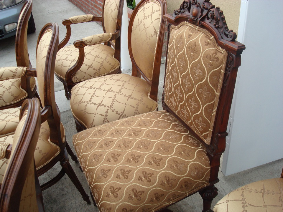 OC Dining chairs reupholster after