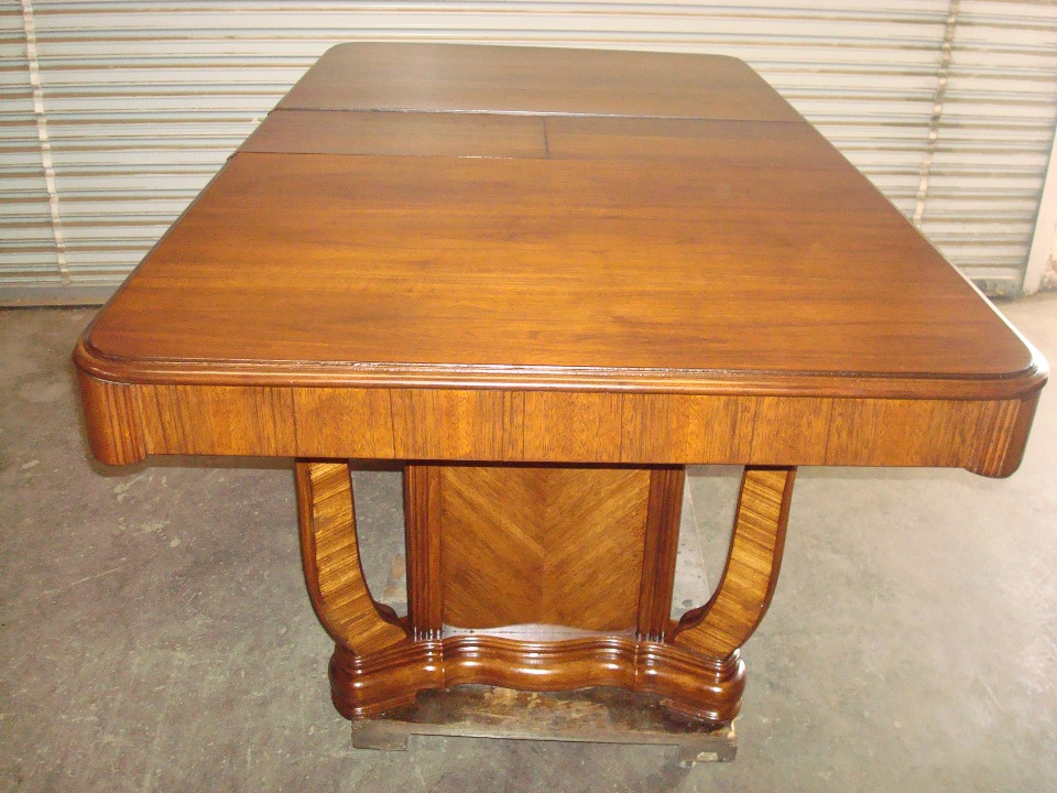 OC Dining table refinishing and staining after