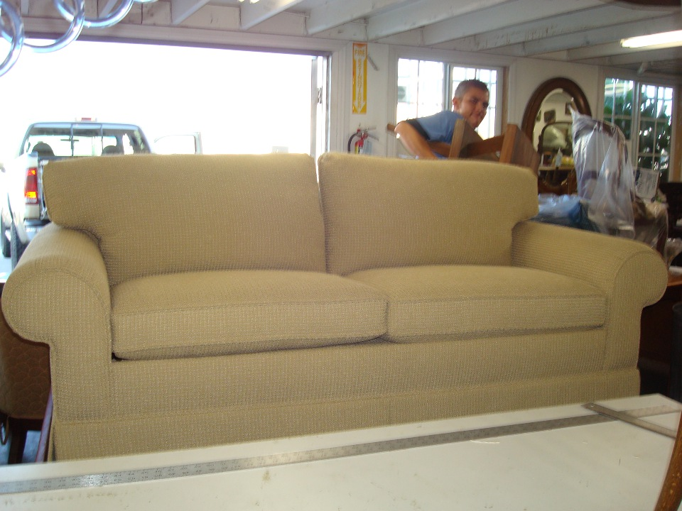 OC Sofa reupholstery after