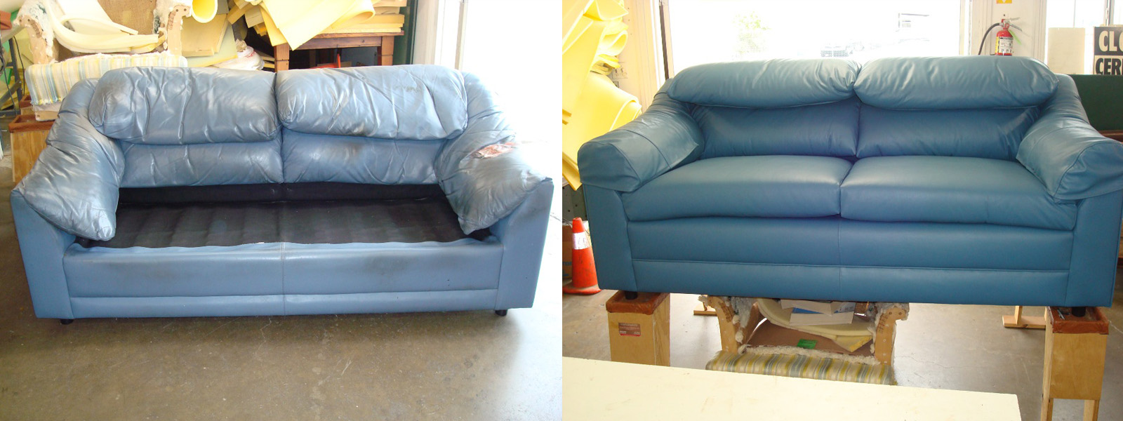 Orange-County-leather-sofar-reupholstering