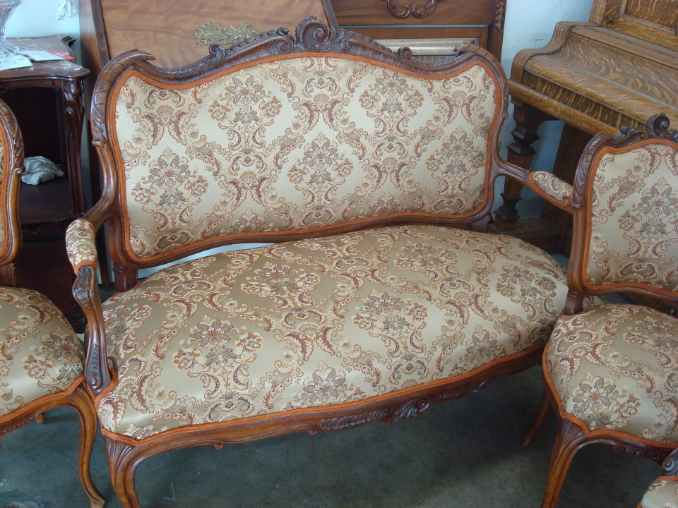 Sofar reupholstery Orange County after