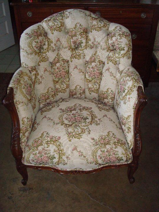 chair repairs refinish